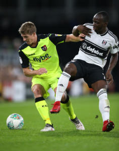 Fulham v Exeter City - Carabao Cup - Second Round - Craven Cottage